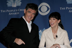 Craig Ferguson, Jennifer Love Hewitt Royalty Free Stock Photography