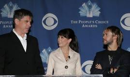 Craig Ferguson, Jennifer Love Hewitt och Dominic Monaghan arkivfoton