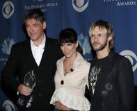 Craig Ferguson, Jennifer Love Hewitt och Dominic Monaghan royaltyfria foton