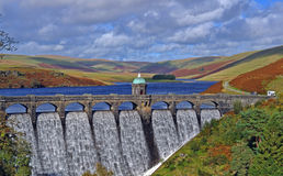 Craig Goch Dam Royalty Free Stock Photo