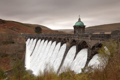 Craig Goch Dam Stock Photo
