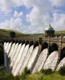 Craig Goch Dam. Elan Vallei - Wales Stock Foto's