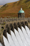 Craig Goch dam in the Elan Valley Stock Photography