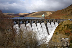 Craig Goch reservoir. Royalty Free Stock Photos
