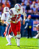 Craig James New England Patriots. Former New England Patriots Running back Craig James. (Image from color slide Royalty Free Stock Photo