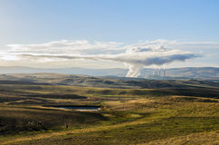Craig Power Station. The Power Station in Craig, Colorado, early morning, fall 2012 stock photos
