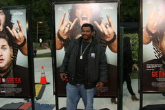 Craig Robinson #1. Craig Robinson attends the premiere of 'Get Him to the Greek' at the Greek Theater in Los Angeles Royalty Free Stock Photography