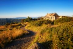 Craig`s Hut  in the Victorian Alps, Australia Royalty Free Stock Photography