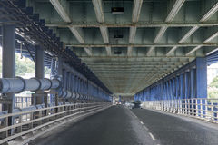 Craigavon Bridge, Derry - Londonderry, Northern Ireland Royalty Free Stock Images