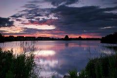 Craigavon Lakes Stock Image