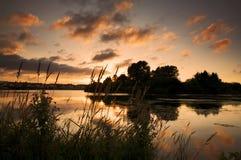 Craigavon Lakes Northern Ireland, UK Royalty Free Stock Image
