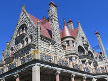 Craigdarroch Castle in Victoria BC Royalty Free Stock Images