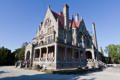 Craigdarroch Castle Victoria Canada Royalty Free Stock Photo