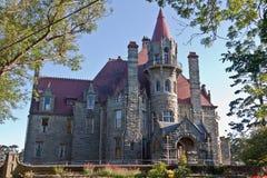 Craigdarroch Schloss Victoria Kanada lizenzfreie stockfotos