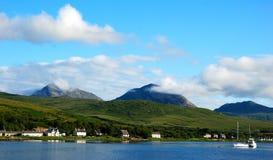 craighouse νησί Jura Στοκ Φωτογραφίες