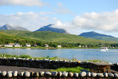 Craighouse island of jura Stock Image