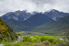 Craigieburn范围,新西兰 图库摄影