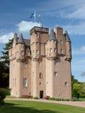 Craigievar kasteel royalty-vrije stock afbeeldingen