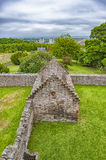 Craigmillar Castle Church Ruins Stock Photo