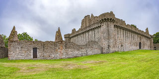 Craigmillar Castle Panorama Stock Image