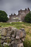 Craigmillar castle ruin Stock Photography