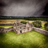Craigmillar kasztelu ruiny obrazy stock