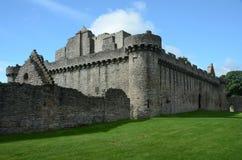 Craigmillar kasztelu ruiny obrazy royalty free