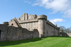 Craigmiller Castle Royalty Free Stock Images