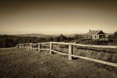 Craigs小屋在维多利亚女王时代的阿尔卑斯,澳大利亚 免版税库存照片