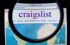 Craigslist Стоковая Фотография RF