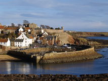 Crail Harbour Stock Photo