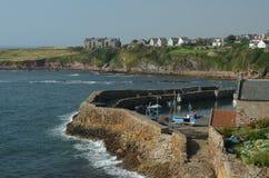 Crail Harbour Stock Photo