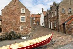 Crail Skottland Arkivbild