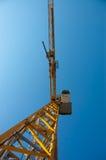 Crain auf Baustelle Stockfoto