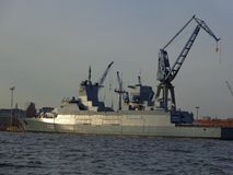 Craine skepp royaltyfri fotografi