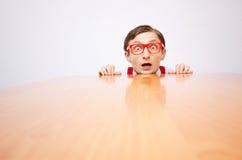 Crainte dans le bureau photos stock