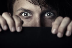Crainte de témoin Images libres de droits