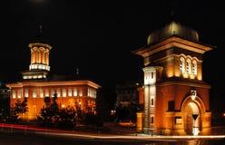 Craiova的老教会 库存图片