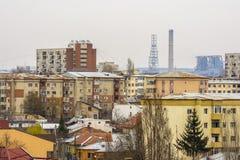 Craiova cityscape from above Royalty Free Stock Photos
