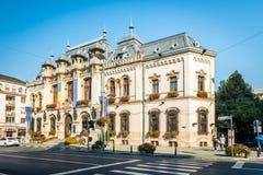 Craiova stadshus, Rumänien Royaltyfri Fotografi