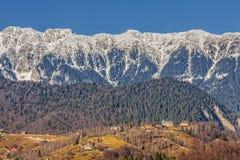 craiului山piatra罗马尼亚 免版税库存照片