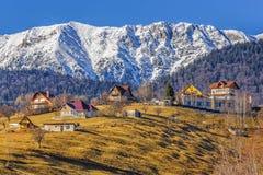 craiului山piatra罗马尼亚 库存图片