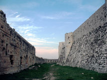 Crak des Chevaliers ... Double ring walls... Stock Images