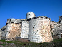Сrak des Chevaliers. Western Wall Royalty Free Stock Images