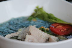 Crake noodles Royalty Free Stock Photography