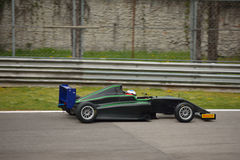 Cram Motorsport Formula 4 car test at Monza Royalty Free Stock Photography
