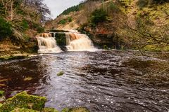 Crammel Linn Waterfall Pool Royalty Free Stock Images