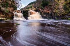Crammel Linn Waterfall With Motion Blur Pool Stock Photo