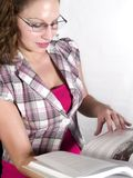 Cramming do conhecimento Fotografia de Stock
