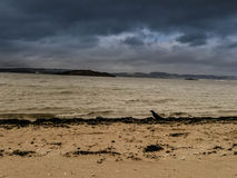 Cramond plaża Fotografia Royalty Free
